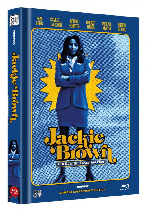 Jackie Brown - Limited Collector's Edition - Cover E [Blu-ray]
