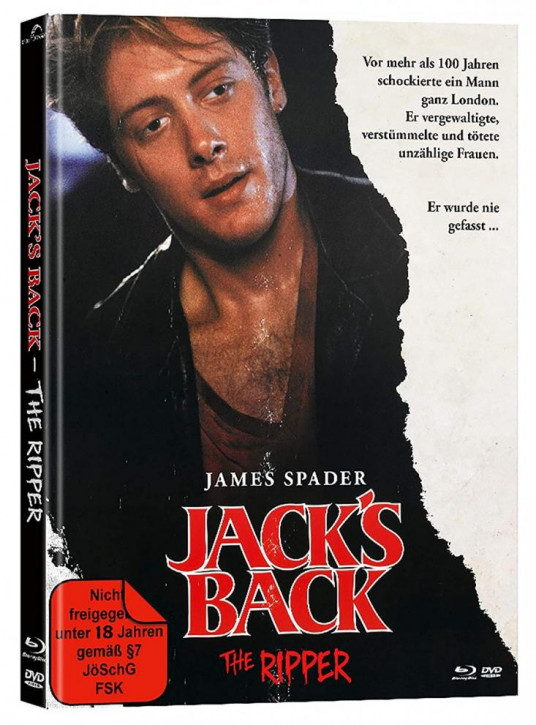 Jack´s Back - The Ripper - Mediabook - Cover A [Blu-ray+DVD]