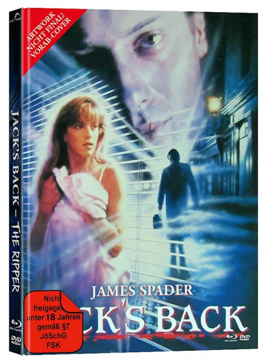 Jack´s Back - The Ripper - Mediabook - Cover B [Blu-ray+DVD]