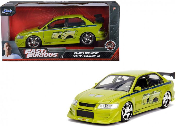 Jada Toys - Fast & Furious Brian's 2002 Mitsubishi Lancer EVO VII