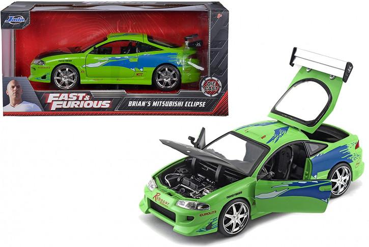 Jada Toys - Fast & Furious - Brian's Mitsubishi Eclipse