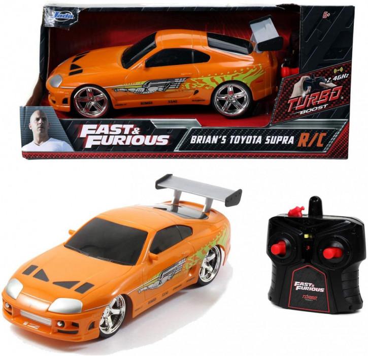 Jada Toys - Fast & Furious RC Auto Brian's Toyota Supra