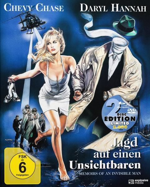 Jagd auf einen Unsichtbaren - Limited Mediabook Edition [Blu-ray+DVD]