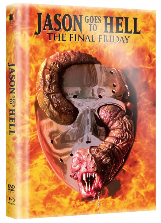 Freitag der 13. - Jason Goes to Hell - Limited Mediabook [Blu-ray+DVD]