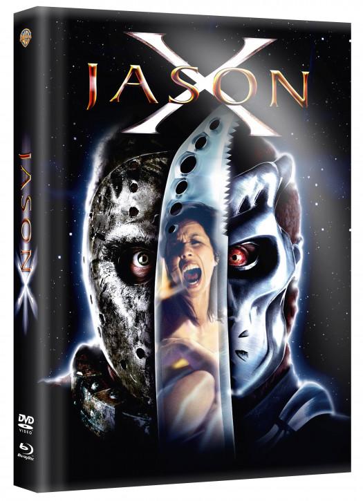 Freitag der 13. - Jason X - Limited Mediabook [Blu-ray+DVD]