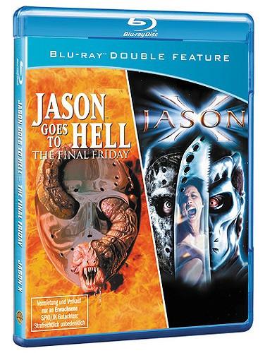 Jason Goes to Hell & Jason X [Blu-ray]