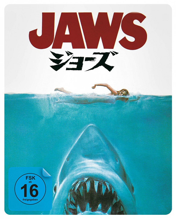 Der weiße Hai - Limited Steelbook (japanisches Artwork) [4K UHD+Blu-ray]