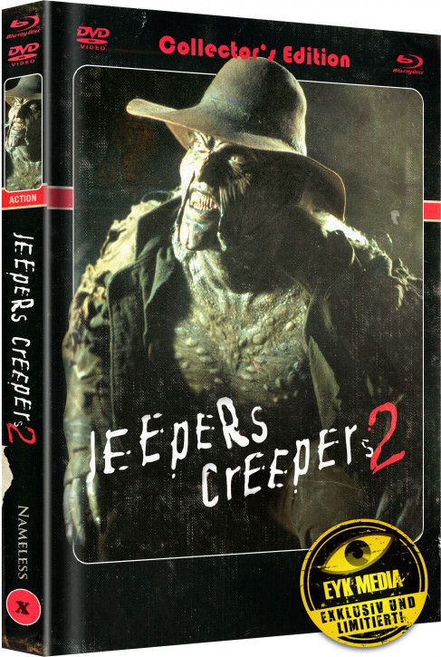 Jeepers Creepers 2 - Limited Mediabook Edition - Cover A [Blu-ray+DVD]