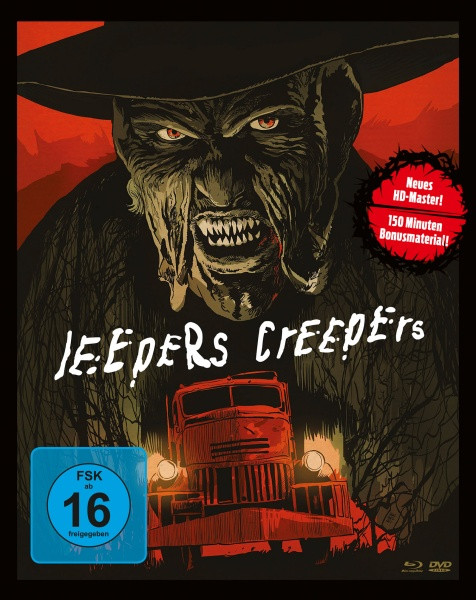 Jeepers Creepers - Limited Mediabook Edition [Blu-ray+DVD]