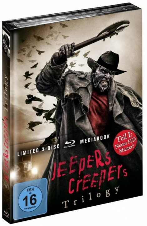 Jeepers Creepers Trilogy - Limited Mediabook Edition [Blu-ray]