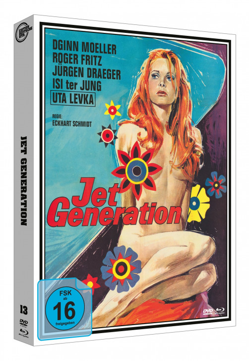 Jet Generation - Edition Deutsche Vita # 13 - Cover A [Blu-ray+DVD]