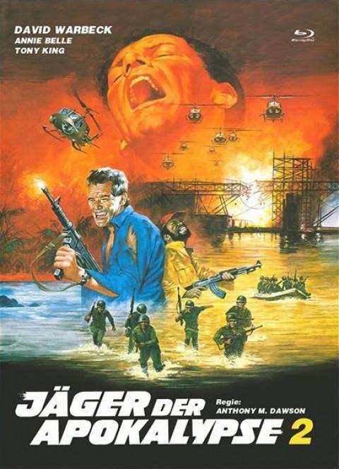 Jäger der Apokalypse 2 - Eurocult Collection #062 - Mediabook - Cover A [Blu-ray+DVD]