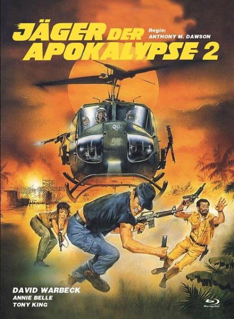Jäger der Apokalypse 2 - Eurocult Collection #062 - Mediabook - Cover B [Blu-ray+DVD]
