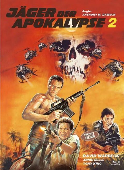 Jäger der Apokalypse 2 - Eurocult Collection #062 - Mediabook - Cover C [Blu-ray+DVD]