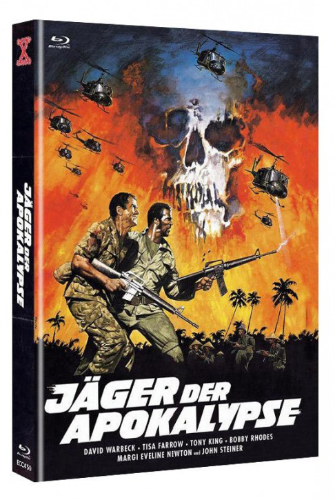 Jäger der Apokalypse - Euro Cult Collection #50 - Mediabook - Cover A [Blu-ray+DVD]