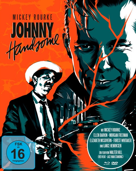 Johnny Handsome - Der schöne Johnny - Mediabook [Blu-ray+DVD]