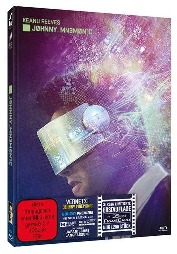 Johnny Mnemonic - Limited Mediabook Edition [Blu-ray+DVD]