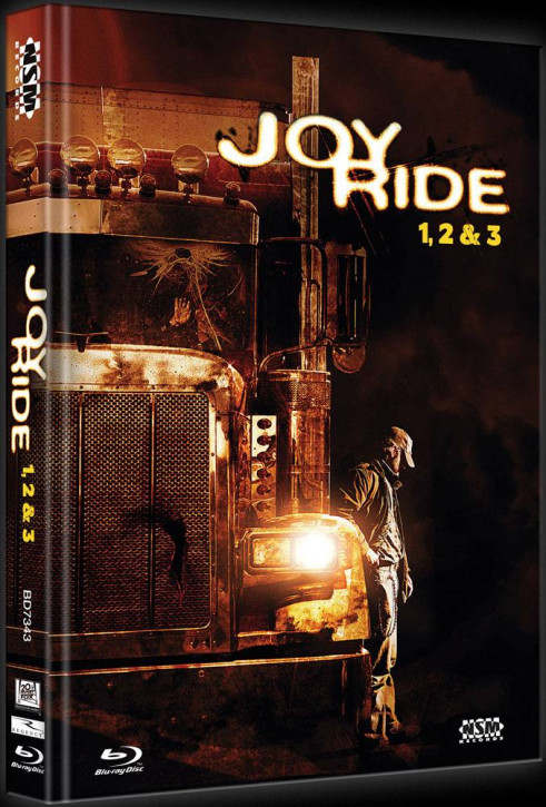 Joy Ride 1-3 Tripple Feature - Limited Collector's Edition - Cover B [Bluray]