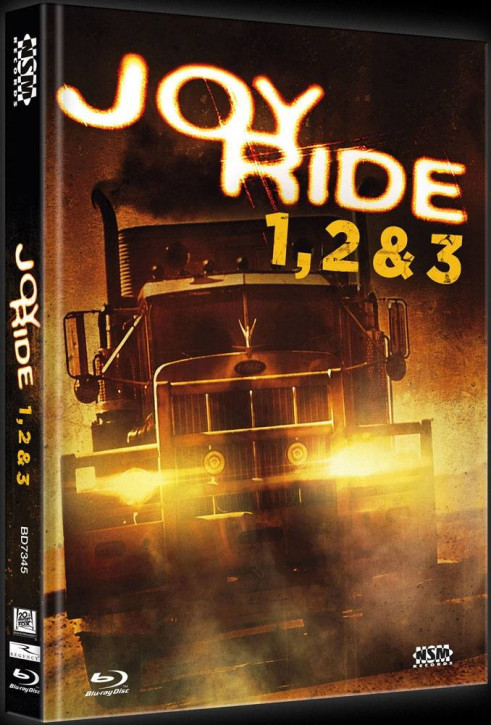 Joy Ride 1-3 Tripple Feature - Limited Collector's Edition - Cover C [Bluray]