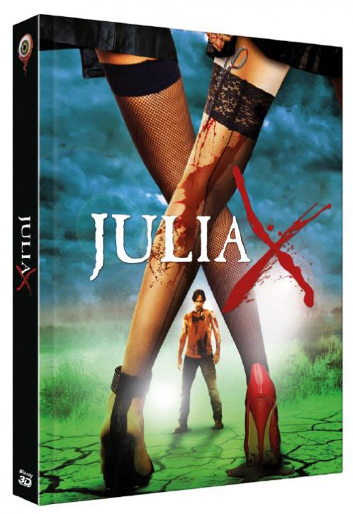 Julia X 3D - Collector's Edition - Cover B [Blu-ray+DVD]