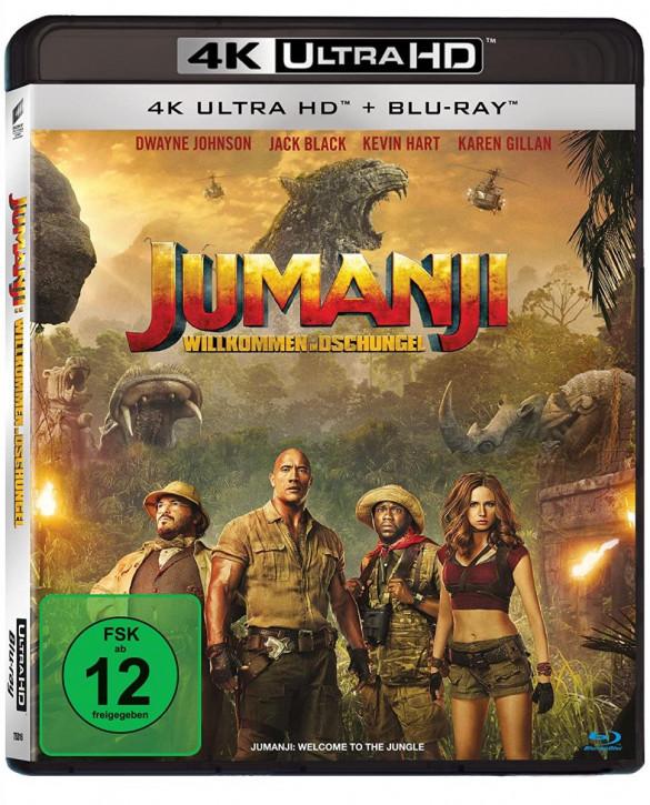 Jumanji: Willkommen im Dschungel [4K UHD+Blu-ray]