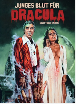 Junges Blut für Dracula - Limited Collectors Edition #8 - Cover B [Blu-ray+DVD]