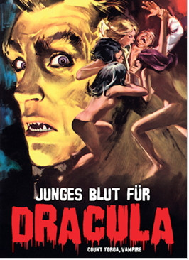 Junges Blut für Dracula - Limited Collectors Edition #8 - Cover C [Blu-ray+DVD]