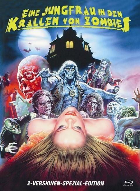 Eine Jungfrau in den Krallen von Zombies - kleine Hartbox - Cover B [Blu-ray]