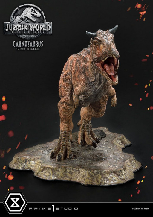 Jurassic World: Fallen Kingdom Prime Collectibles PVC Statue - Carnotaurus