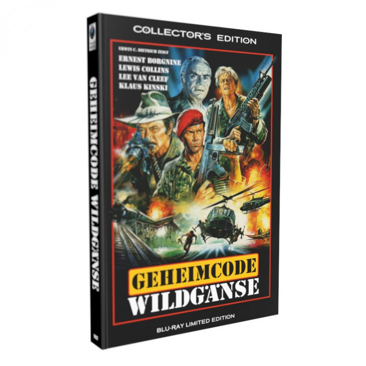 Geheimcode Wildgänse - grosse Hartbox [Blu-ray]