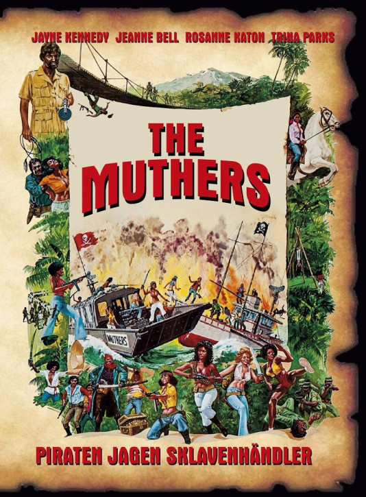 The Muthers Limited Mediabook Edition - Cover B [Blu-ray+DVD]