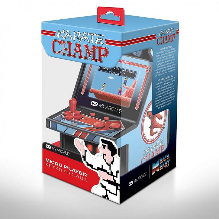 6 Zoll Collectible Retro Karate Champ Micro Player