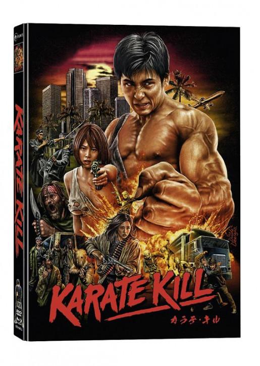 Karate Kill - Limited Mediabook Edition [Blu-ray+DVD]