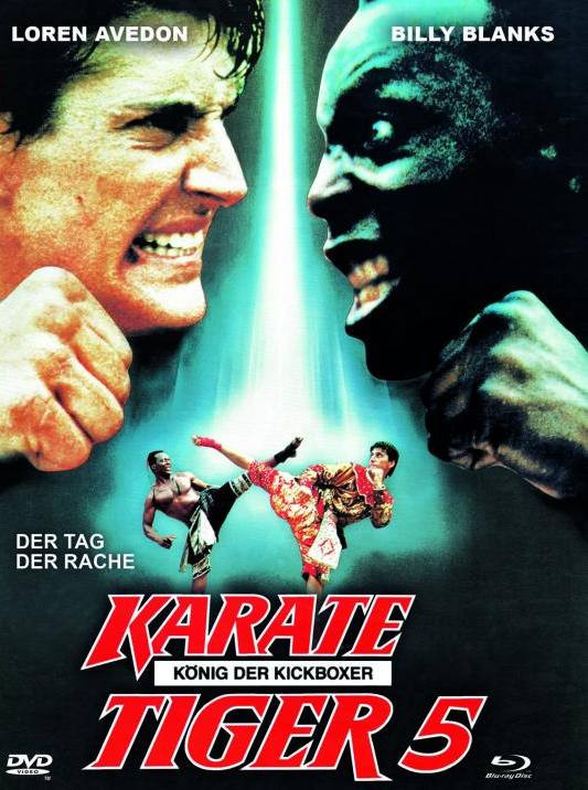 Karate Tiger 5 - Mediabook - Cover A [Blu-ray+DVD]