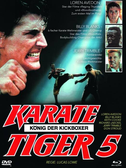 Karate Tiger 5 - Mediabook - Cover B [Blu-ray+DVD]
