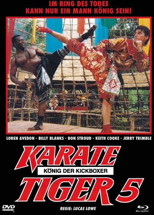 Karate Tiger 5 - Mediabook - Cover C [Blu-ray+DVD]