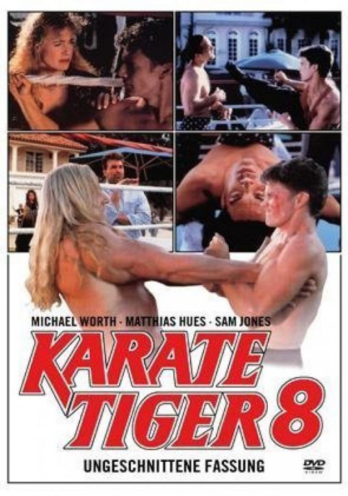 Karate Tiger 8 [DVD]