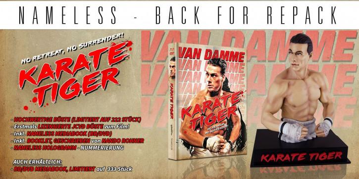 Karate Tiger - Büste inkl. Mediabook [Blu-ray]