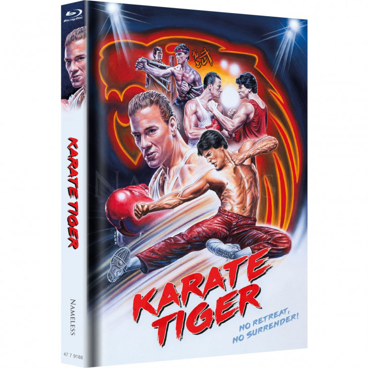 Karate Tiger - Limited Mediabook Edition - Cover C [Blu-ray+DVD]