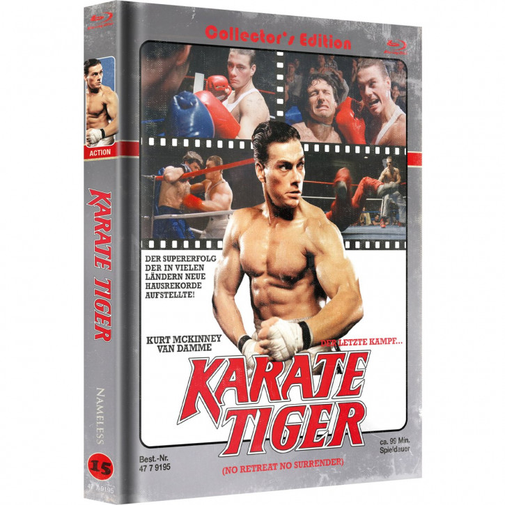 Karate Tiger - Limited Mediabook Edition - Cover D [Blu-ray+DVD]