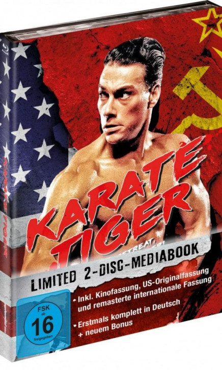 Karate Tiger - Mediabook [Blu-ray]