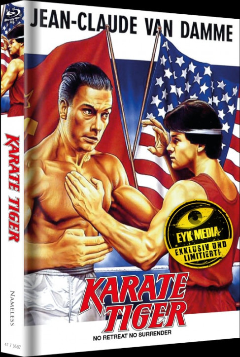 Karate Tiger - Limited Mediabook Edition - Cover E [Blu-ray+DVD]