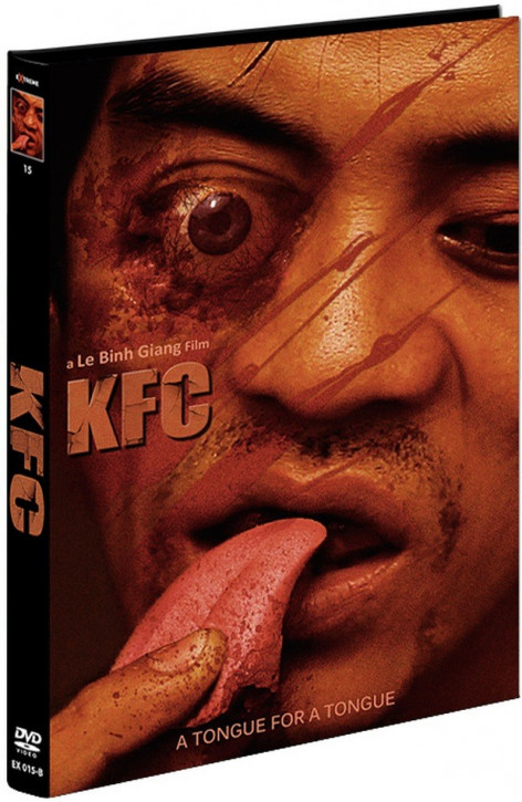 KFC - A Tongue for a Tongue - Limited Mediabook Edition - Cover B [DVD]