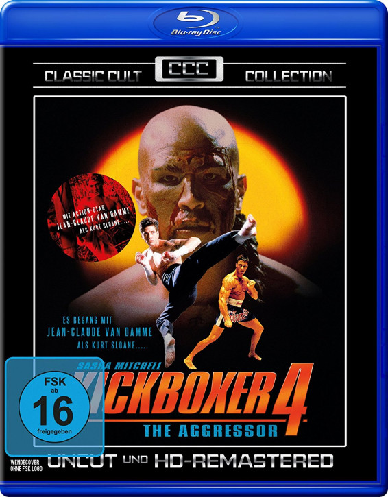 Kickboxer 4 - The Aggressor - Classic Cult Collection [Blu-ray]
