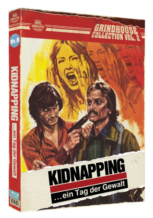 Kidnapping ... ein Tag der Gewalt - Grindhouse Collection Vol. 2 - No. 8 - Cover A [Blu-ray+DVD]
