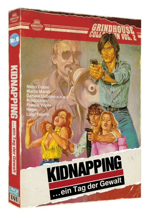 Kidnapping ... ein Tag der Gewalt - Grindhouse Collection Vol. 2 - No. 8 - Cover B [Blu-ray+DVD]
