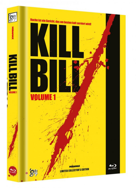 Kill Bill: Vol. 1 - Limited Collector's Edition - Cover C [Blu-ray]