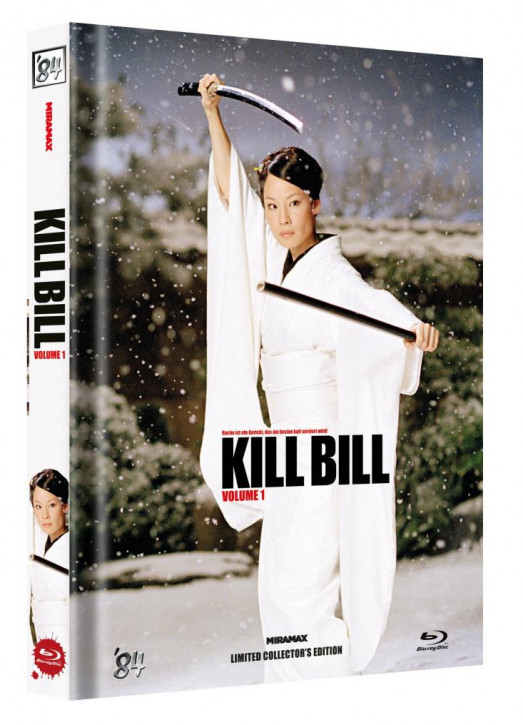Kill Bill: Vol. 1 - Limited Collector's Edition - Cover D [Blu-ray]