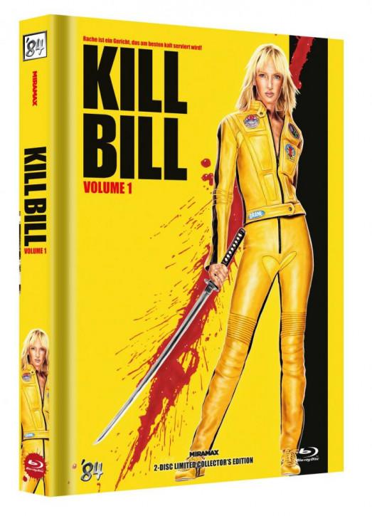 Kill Bill: Vol. 1 - Limited Collector's Edition - Cover E [Blu-ray+DVD]