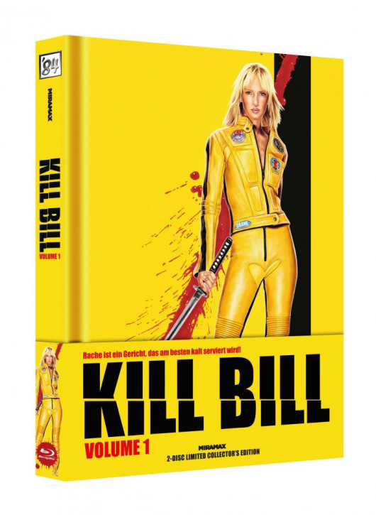 Kill Bill: Vol. 1 - Limited Collector's Edition - Cover B [Blu-ray+DVD]